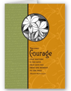 Support greeting card for cancer patient cancer touches everyone the only courage that matters card from zazzle1246343627415 m4hsunfo