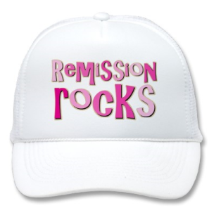 Breast Cancer Remission Rocks Hat from Zazzle.com_1249368069646